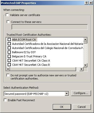 Wicd not validating authentication